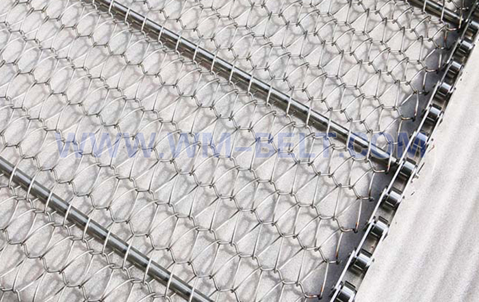 Metal mesh belts