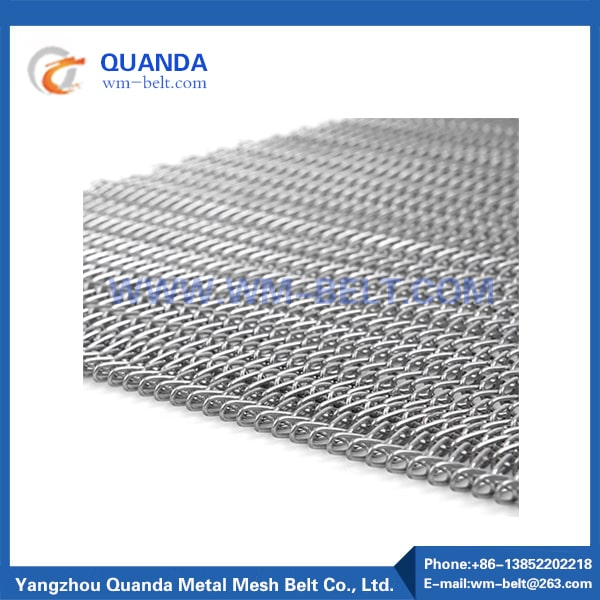 Metal Stainless Steel Mesh Conveyor Belt
