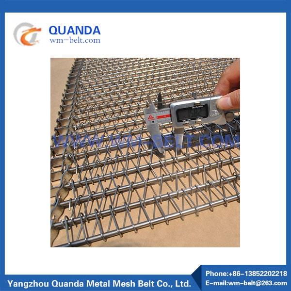 Stainless steel mesh chain