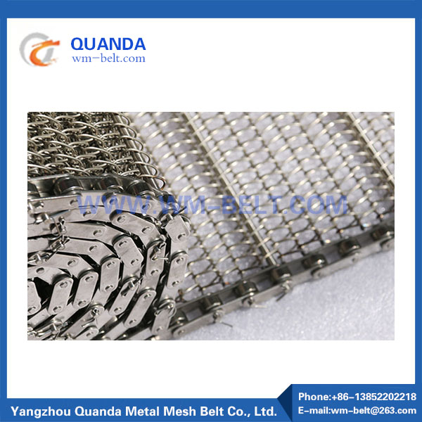 Stainless steel mesh conveyor belt