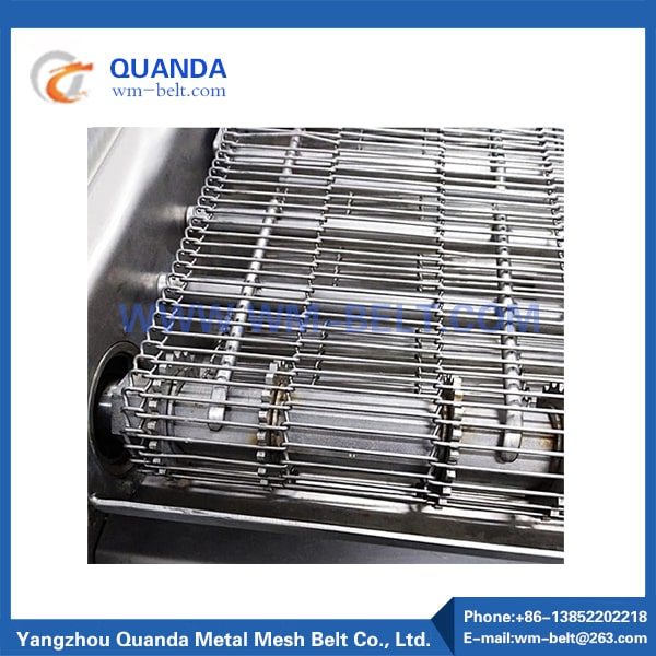 Stainless steel wire conveyor belt