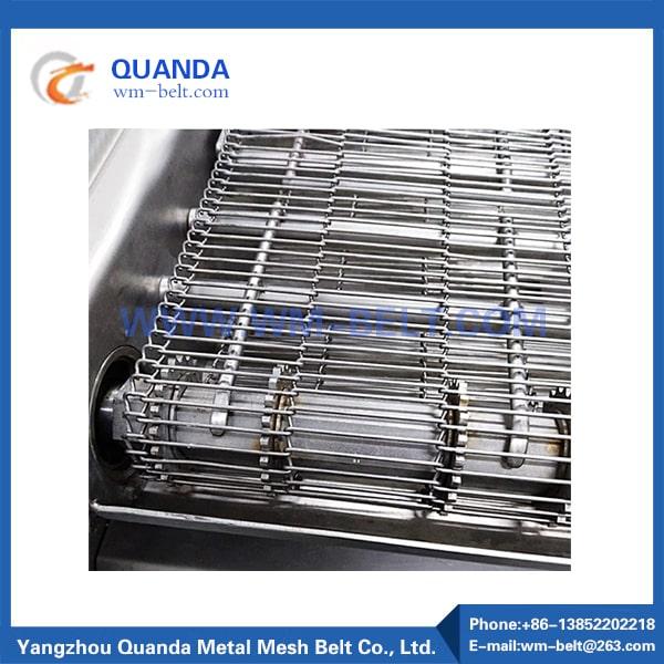 Transportband av rostfritt stål