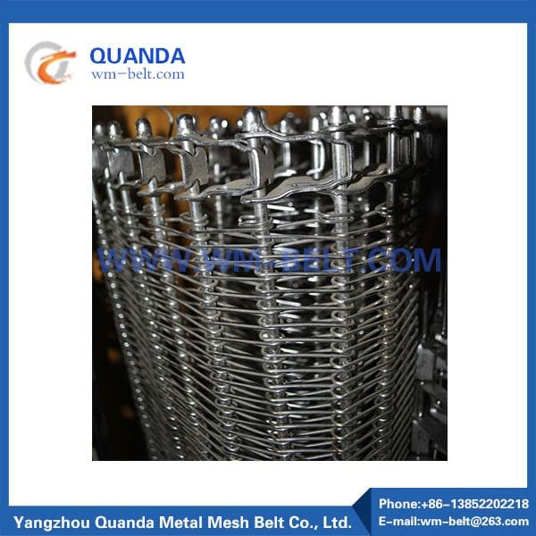 rostfritt ståltrådtransportband