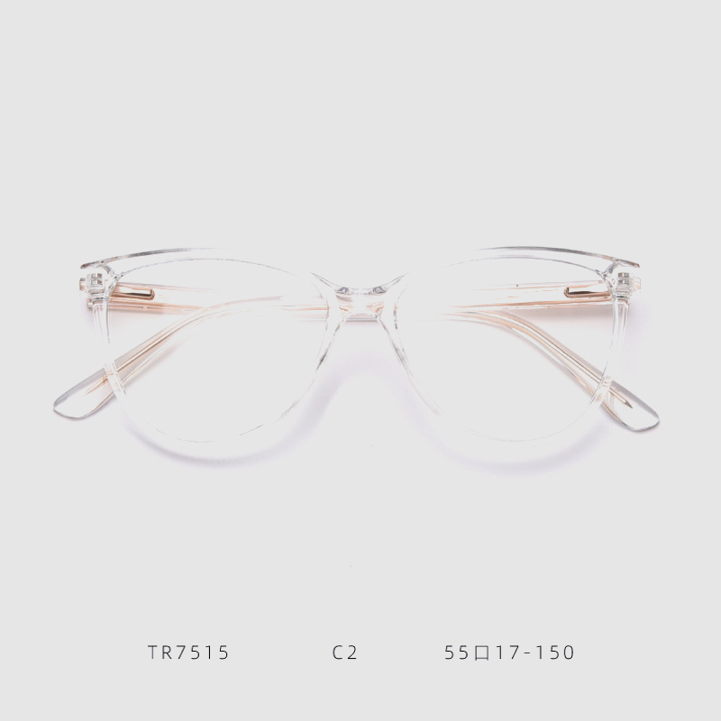 Transparent Frame Woemen Men Vintage Eyeglasses Myopic Frame