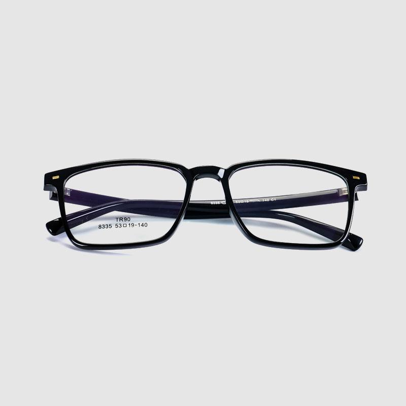 2020 Retro Soft Tr90 Fashion Optical Frame Glasses