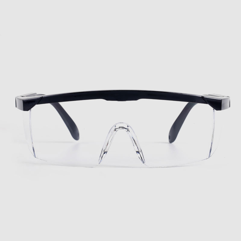 Choice of safety glasses