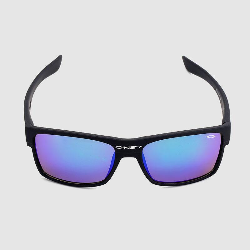 Basic Plastic Sporty Sunglasses With Polarized Lens