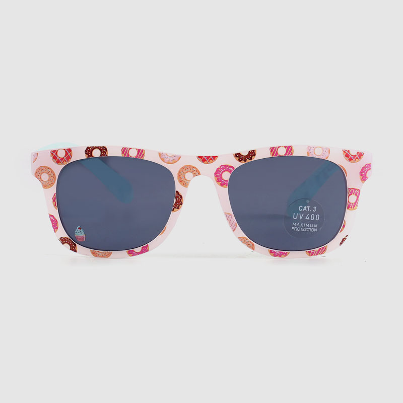 Colorful Catoon Flower Kid Plastic Sunglasses