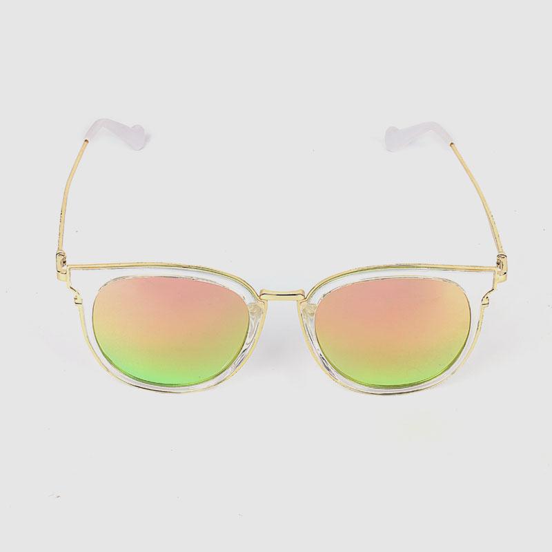 Polokovové sluneční brýle s čočkou Color Mirror