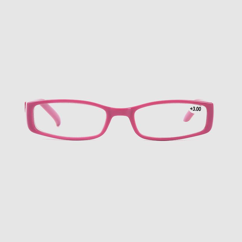 High Quality Square Acetate Reading Glasses Optimum Optical Frames Unisex Style For Reading