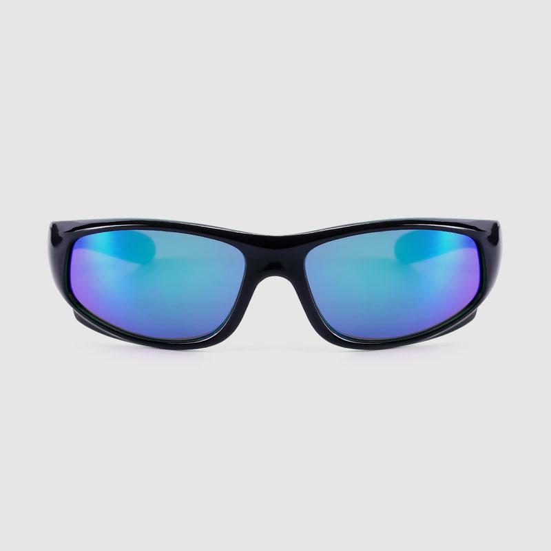 Dětské sportovní sluneční brýle s barevným zrcadlovým sklem