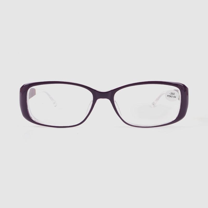Light Weighe Flower Pattern Design Antifatique Eyeglasses