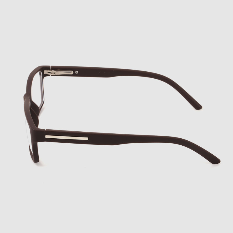 Men's Brown Square Glasses Frame