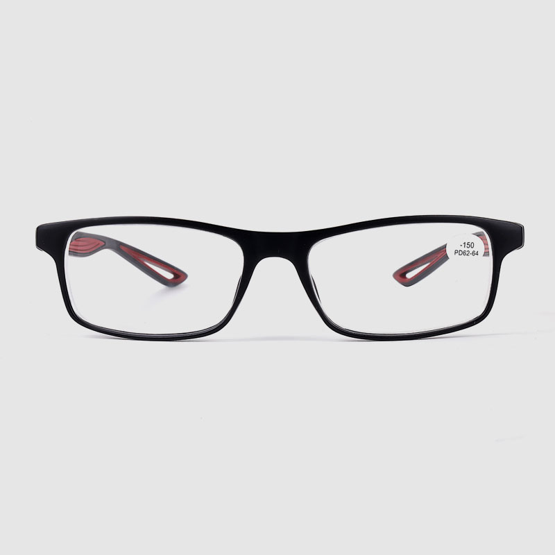 Men's Square PC Optical Frame Glasses