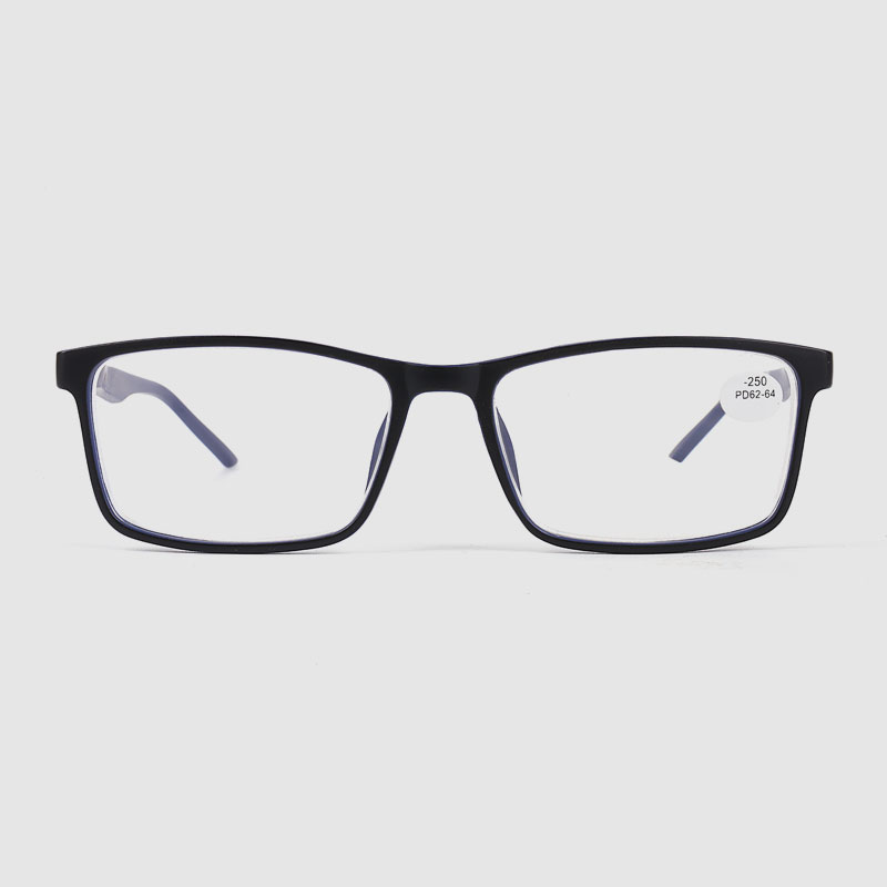 Men's Square Two Tone Optical Frame Glasses