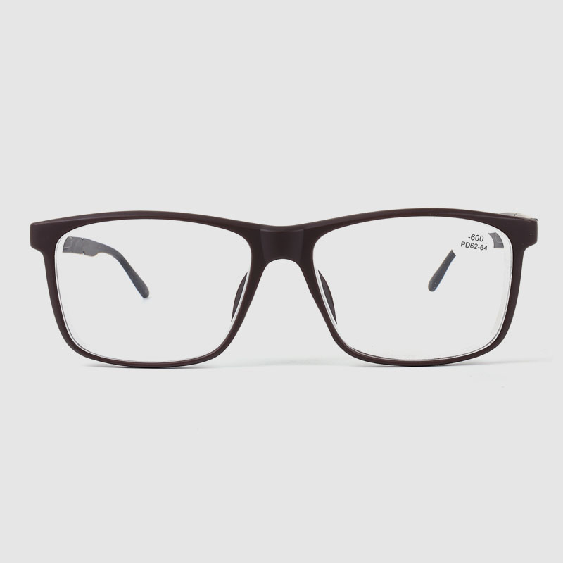 Modern Classic Men's Square Optical Glasses