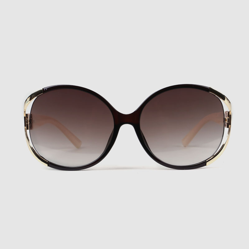 Oversized Gradient Polarized Sunglasses