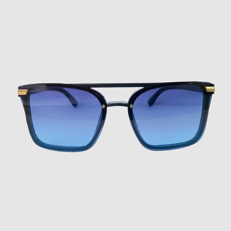 Пластиковые солнцезащитные очки Cateye без оправы с цветными зеркальными линзами