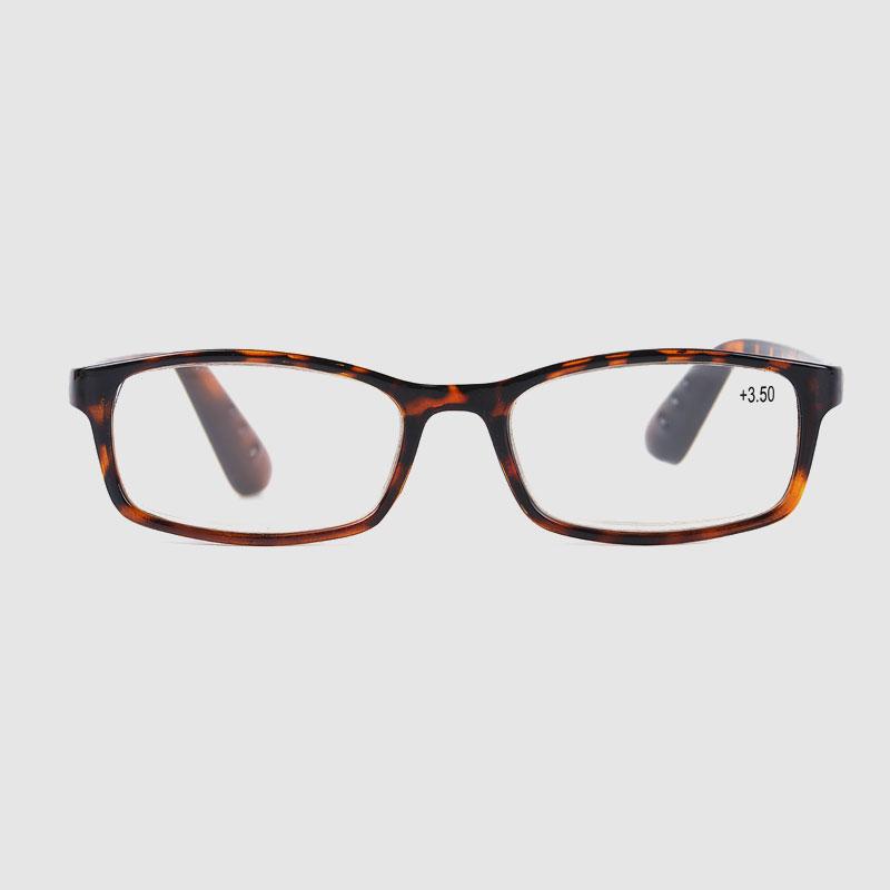 Plastové hnědé reklamní brýle na čtení
