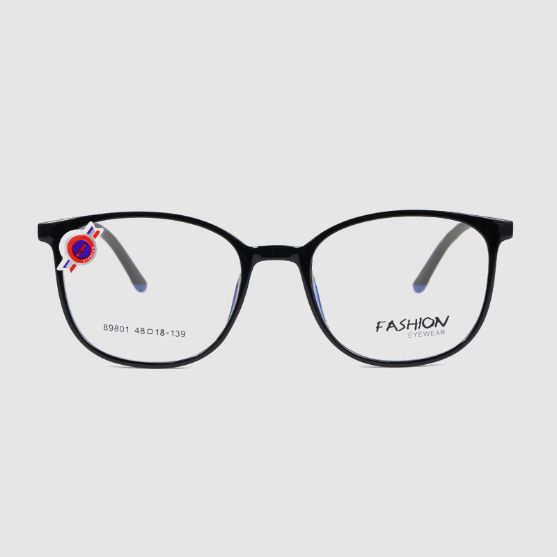 Round Frame Anti Glare Computer Radiation Protection Glasses