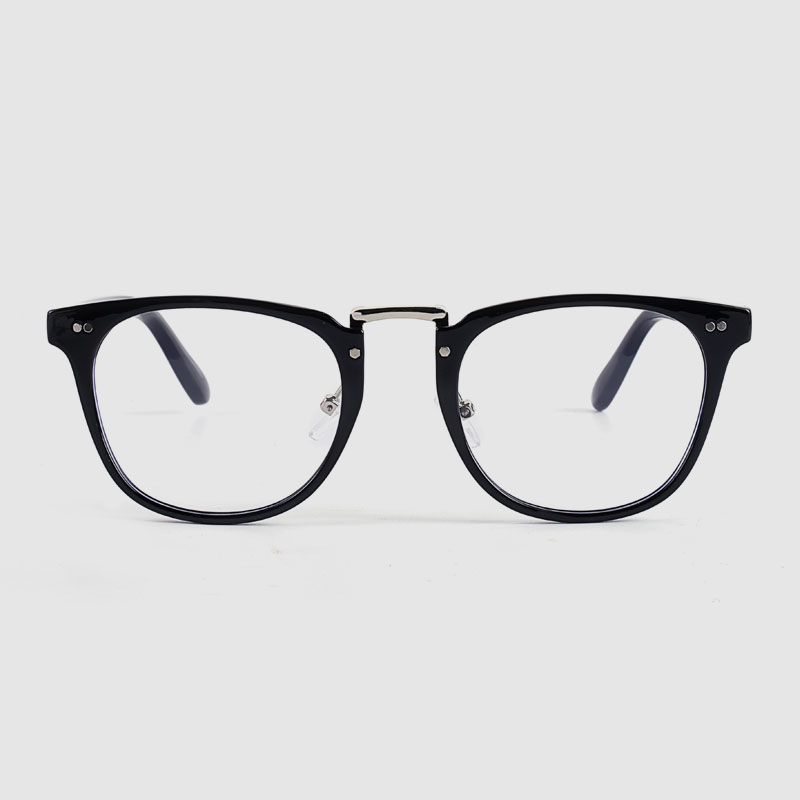 Transparent Two Tone Optical Frame Grey