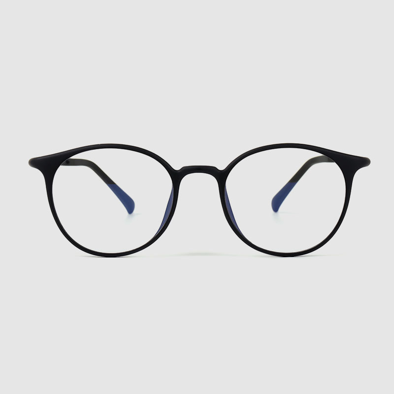 Women's Anti-blue Light Round Glasses