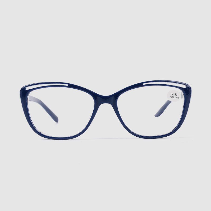 Women's Cat Eye Optical Frame With Spring On Arms