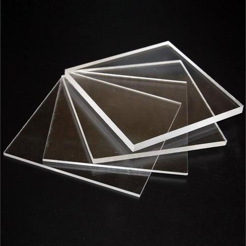 Lastra acrilica colata trasparente per pittura UV