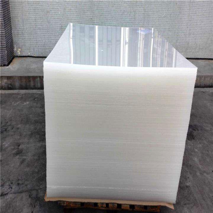 Lastra acrilica colata trasparente utilizzata per materiali da costruzione