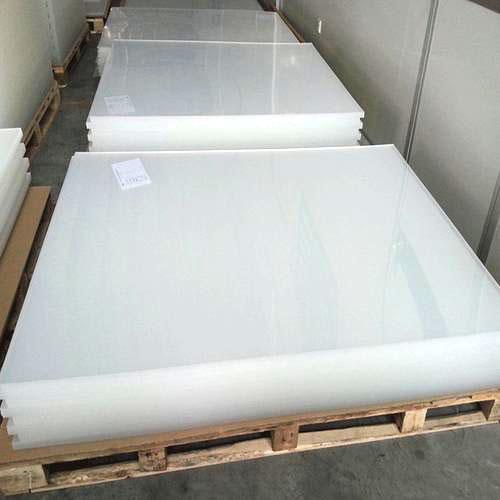 Lastra acrilica estrusa trasparente per cornice