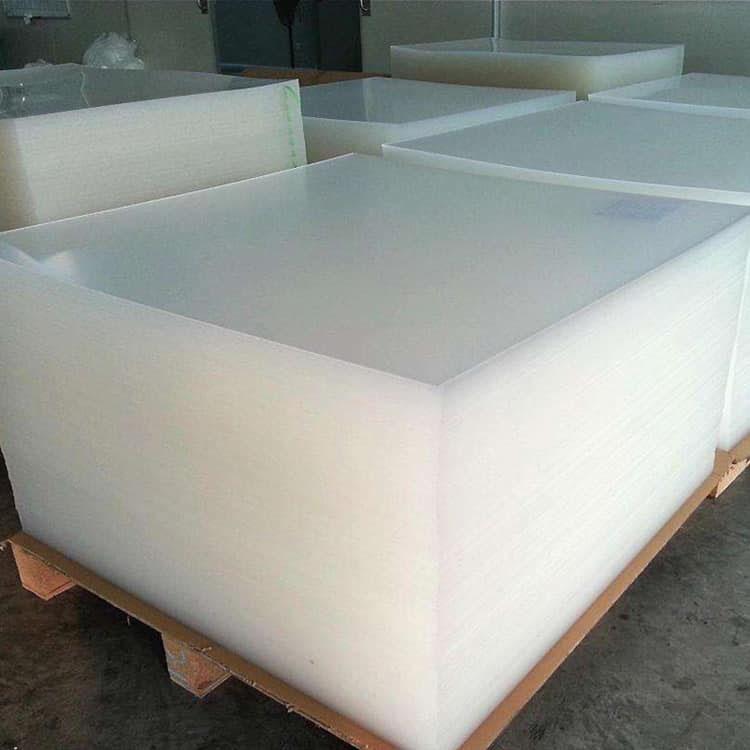 Lembar PMMA Transparan Digunakan Untuk Periklanan