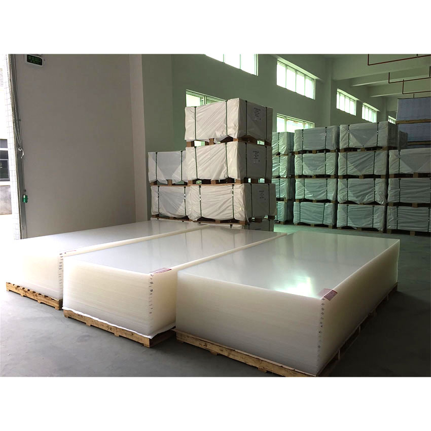 浴槽を作るための白い色のPMMAプラスチックシート