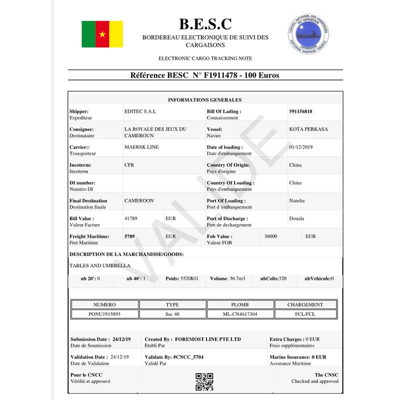 Kamerun Ectn