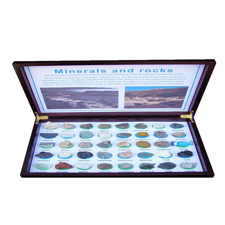 Spesimen Koleksi Mineral Dan Batu 40PCS