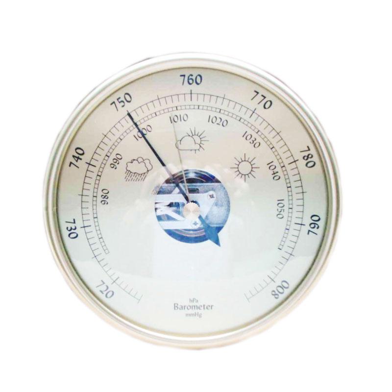 Barometer Aneriod Aluminium