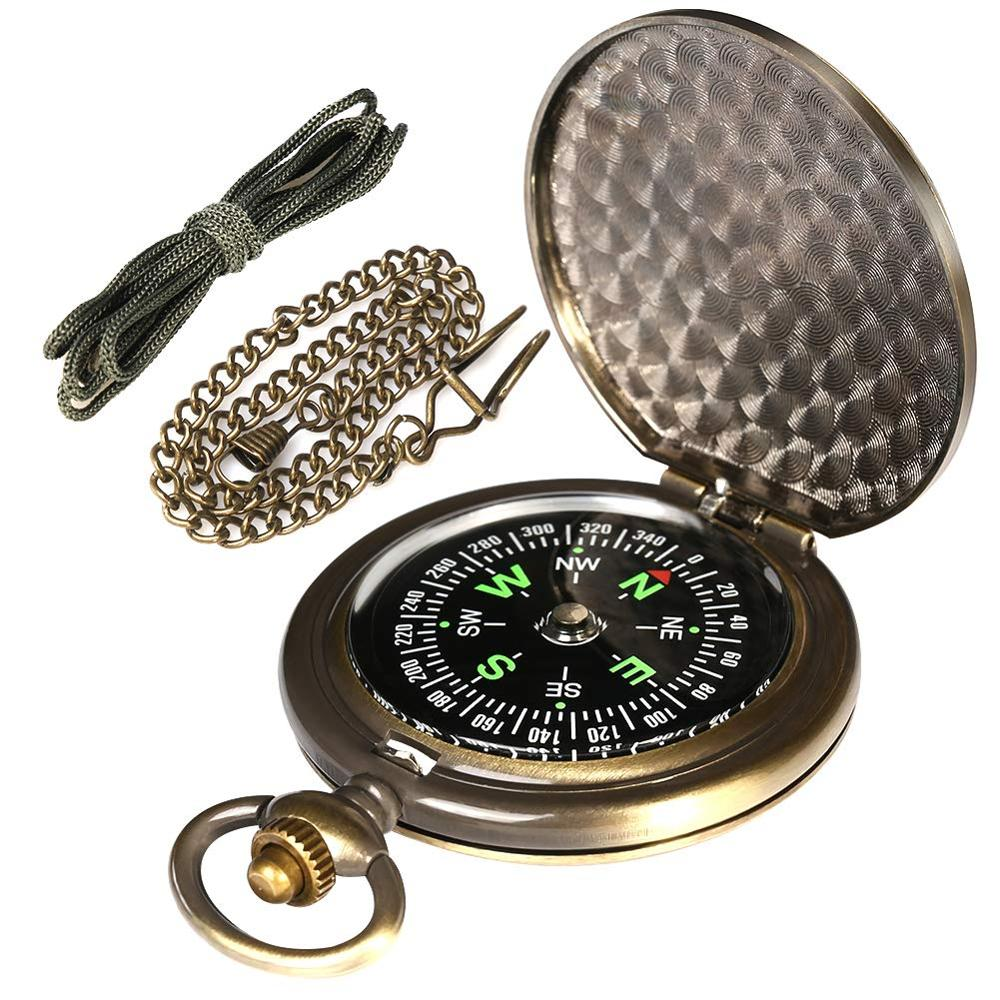 Antique Pocket Watch Compass