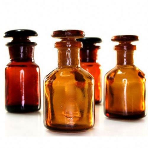 Brown Glass Reagent Bottle