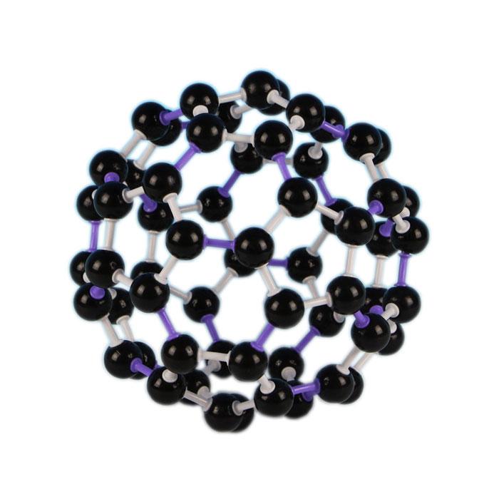 Carbon 60 Molecular Structure Model