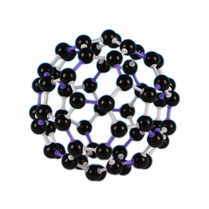 Carbon 60 Molecular Structure Model