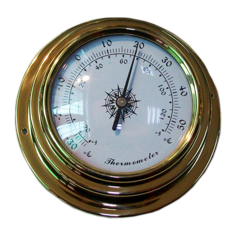 Copper Shell Thermometer