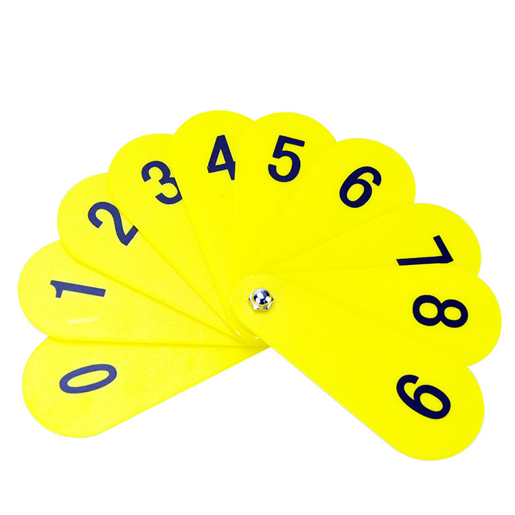 Counting Numbers Card