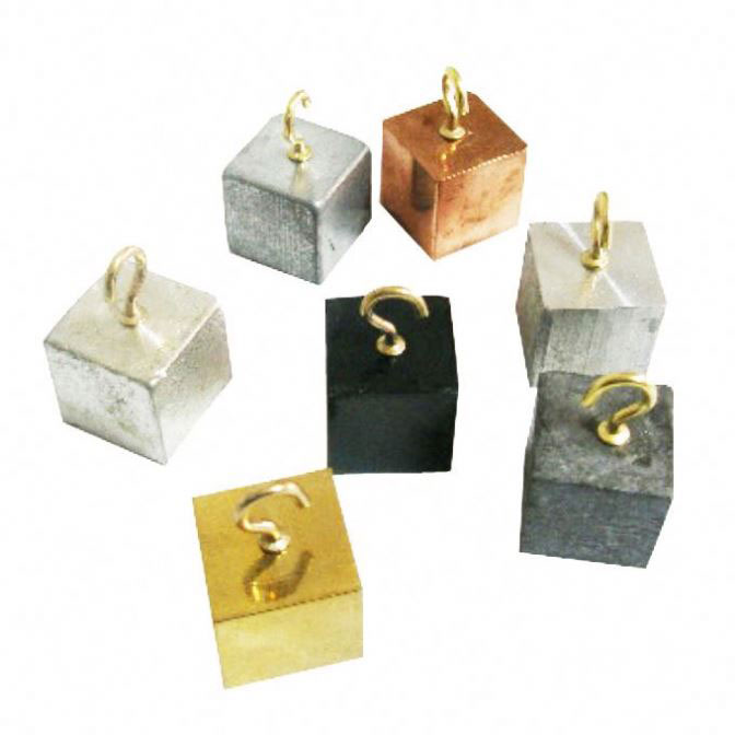 Density Cubes Set With Hook