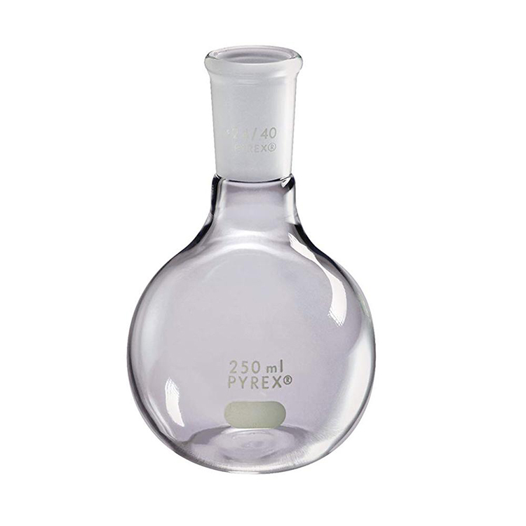 Flat Bottom Round Boiling Florence Flask