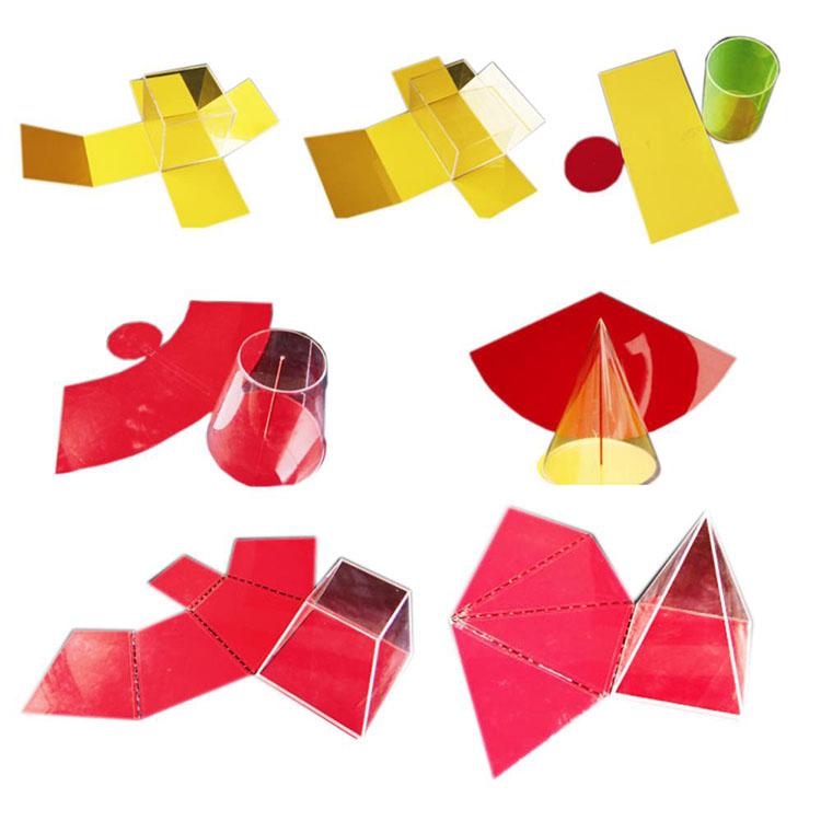 Set Wangun Geometri Ekspansi Lipat