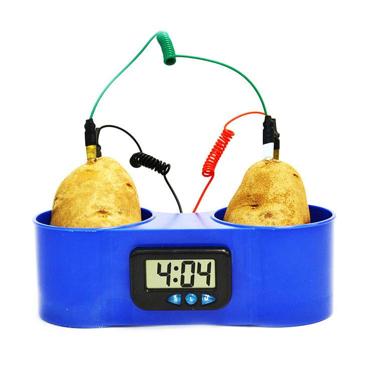 Fruit Potato Clock