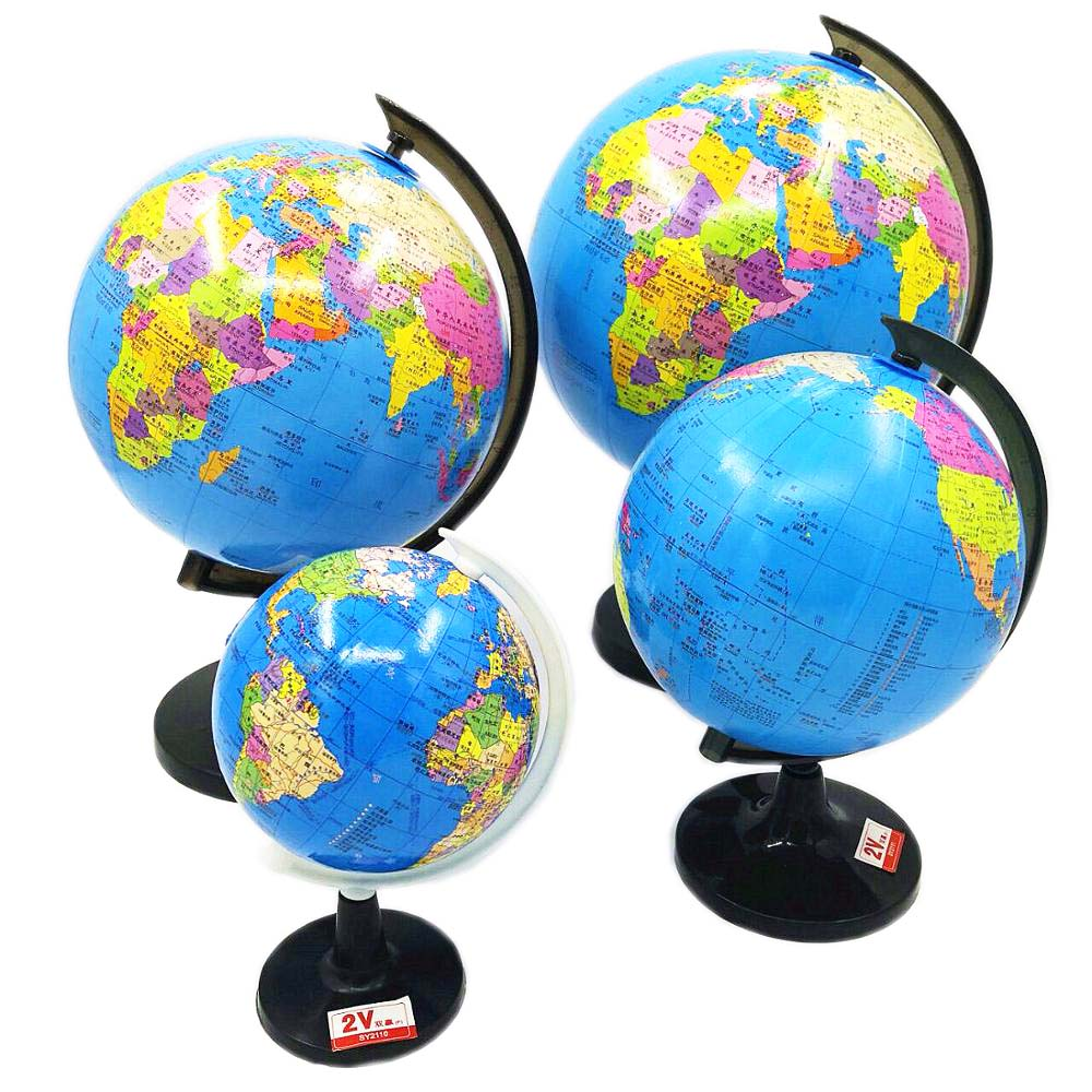Geographic Teaching Interactive World Map Globes