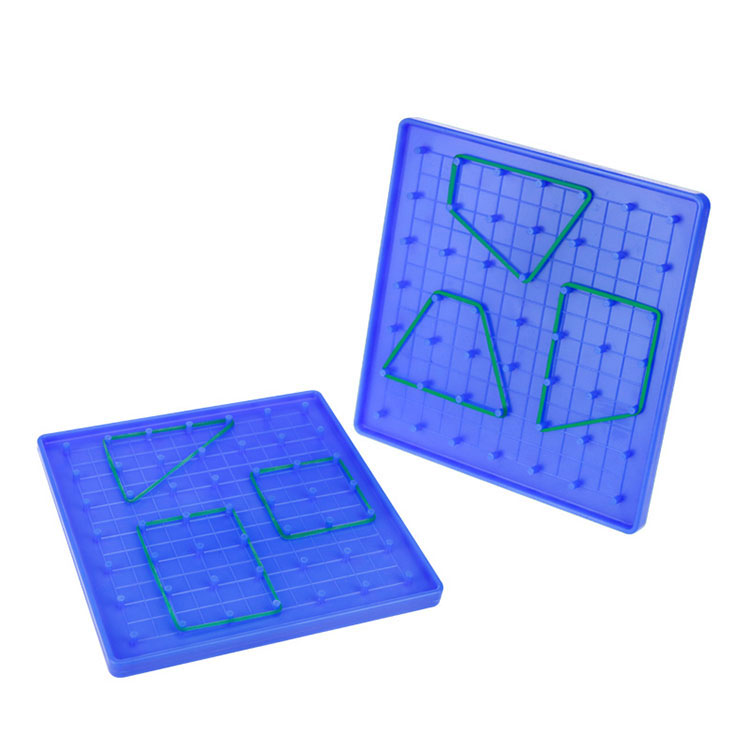 Geometry Math Manipulative Plastic Geoboard