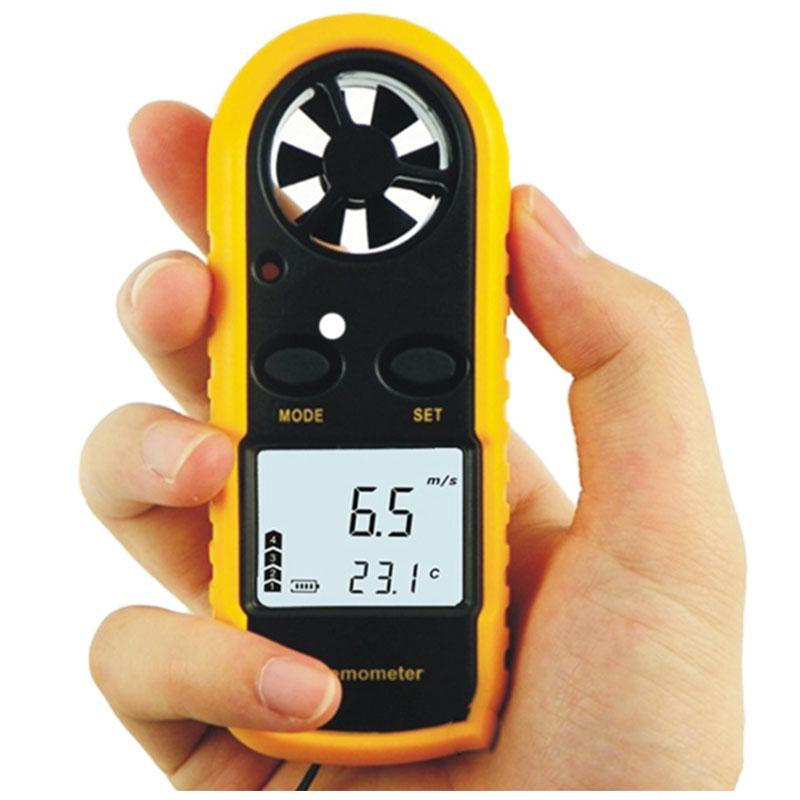 Anemometer Suhu Digital Genggem