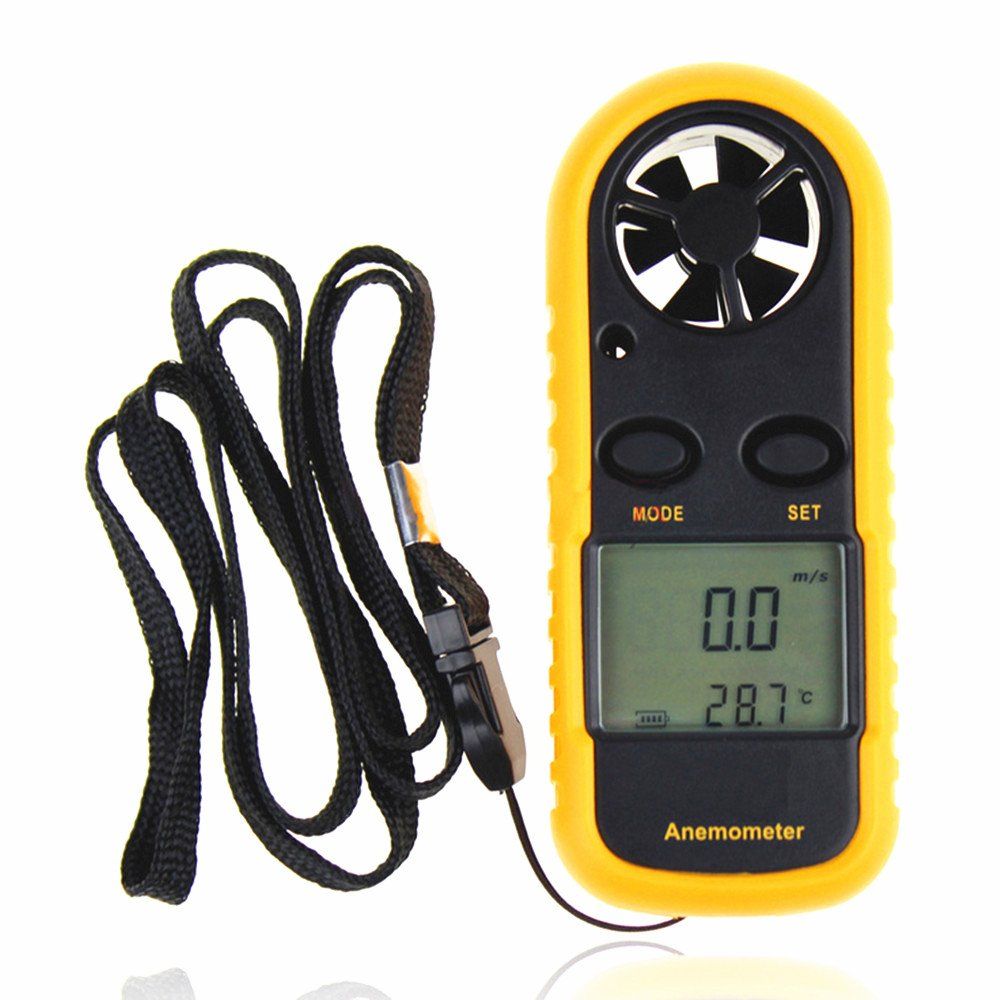 Handheld Digital Temperature Anemometer