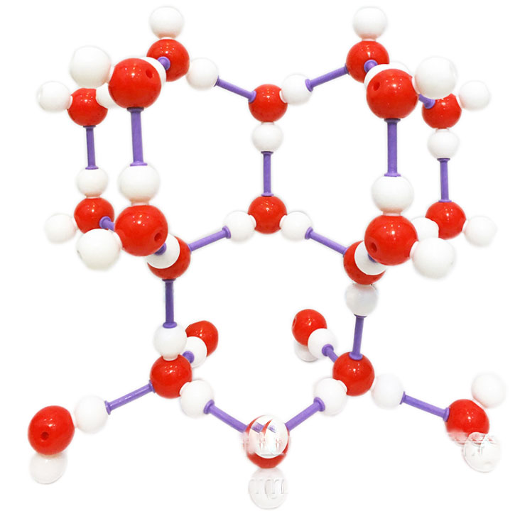 ICE H20 Molecular Structure Model A1